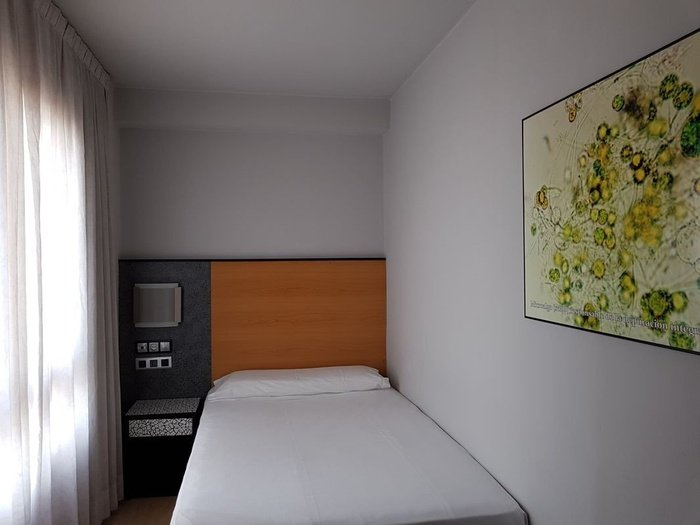 Chambre individuelle hotel city house pathos gijón