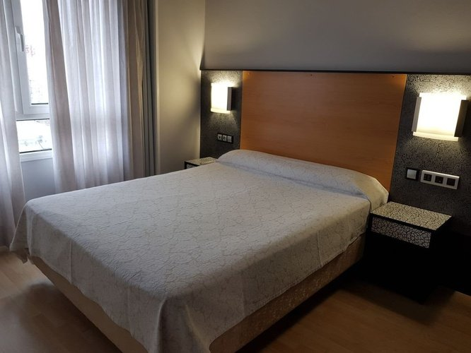 Chambre hotel city house pathos gijón